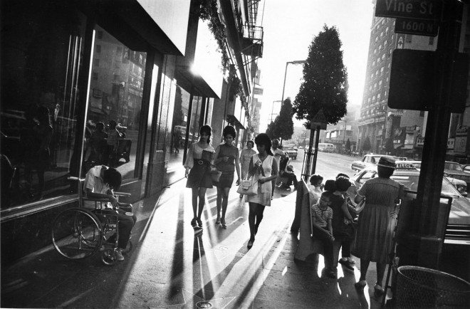"""""""Hollywood Boulevard""""  © 1984 The Estate of Garry Winogrand"""