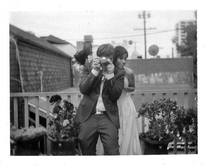 Mr. and Mrs. Robert Larson  Santa Monica, CA 04/13/2013. Photo by Rinzi Ruiz
