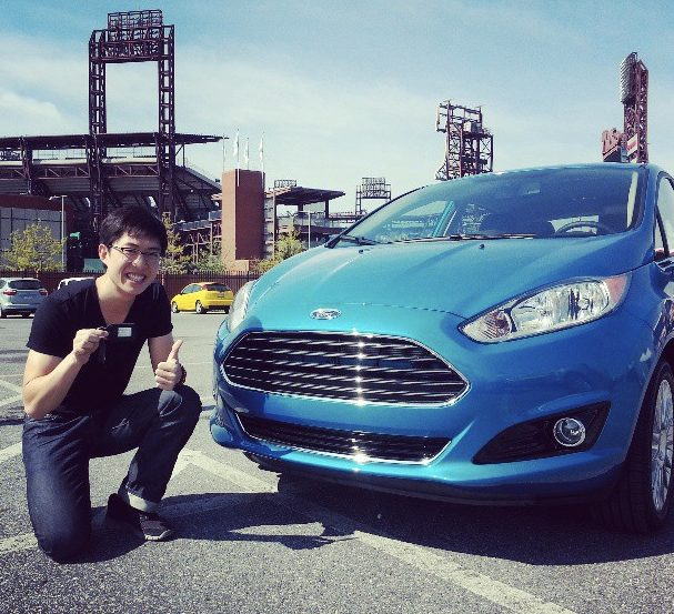 Meeting my 2014 Ford Fiesta for the first time!