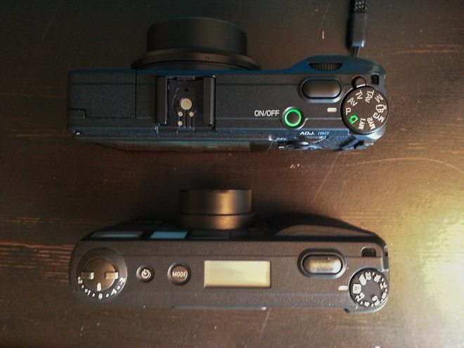 GRDV on top, GR1v on bottom