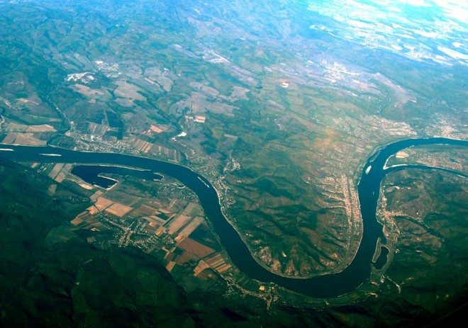 Have you ever seen a river that is completely straight? No-- they are all curved.