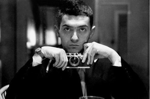 Self-portrait of Stanley Kubrick
