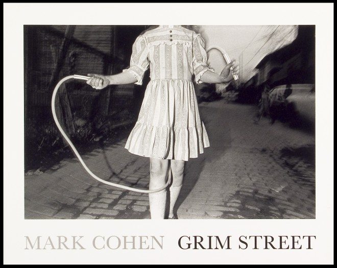 Surreal photo by Mark Cohen: headless girl jumping rope