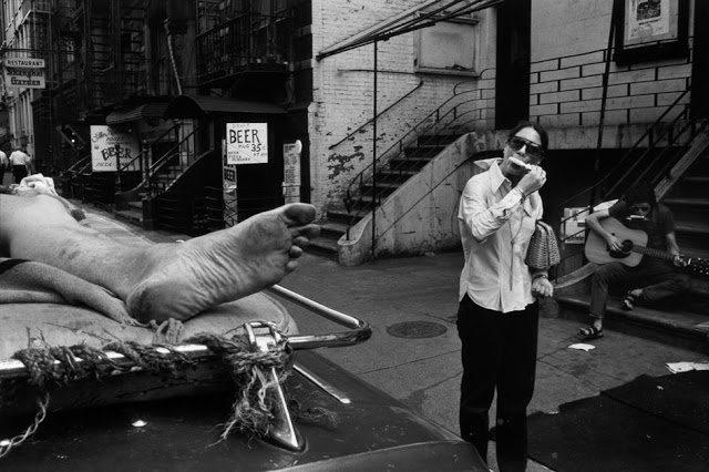 4th street, new york city, 1970