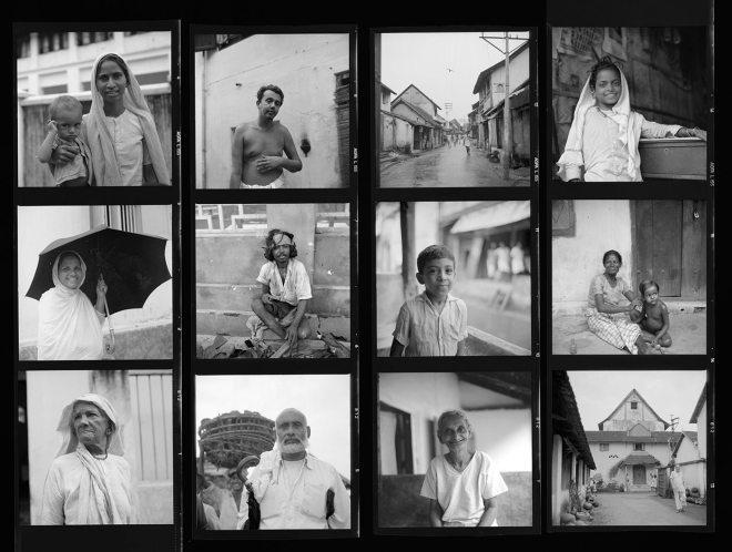 Vivian Maier Contact Sheet / Kochi, India, 1959