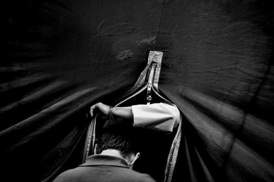 Producing or Evoking Myths: Street Photography by Peter McCollough