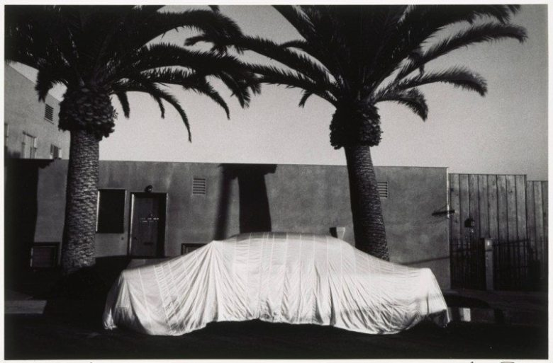 robert frank-covered car