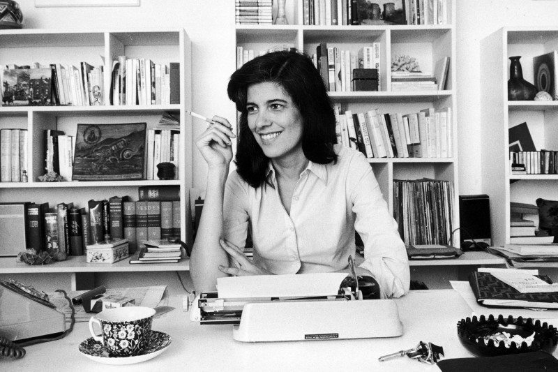 "Portrait of Susan Sontag, author of ""On Photography"""