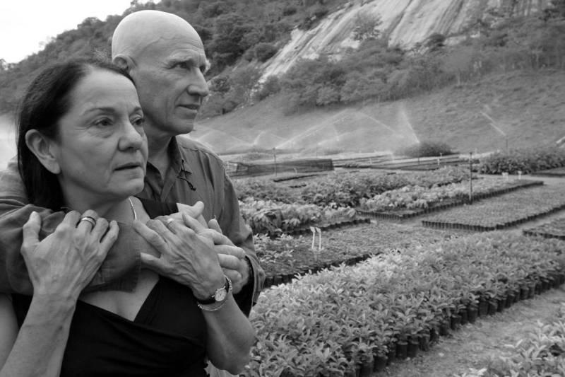 Sebastião Salgado and Lélia Wanick Salgado