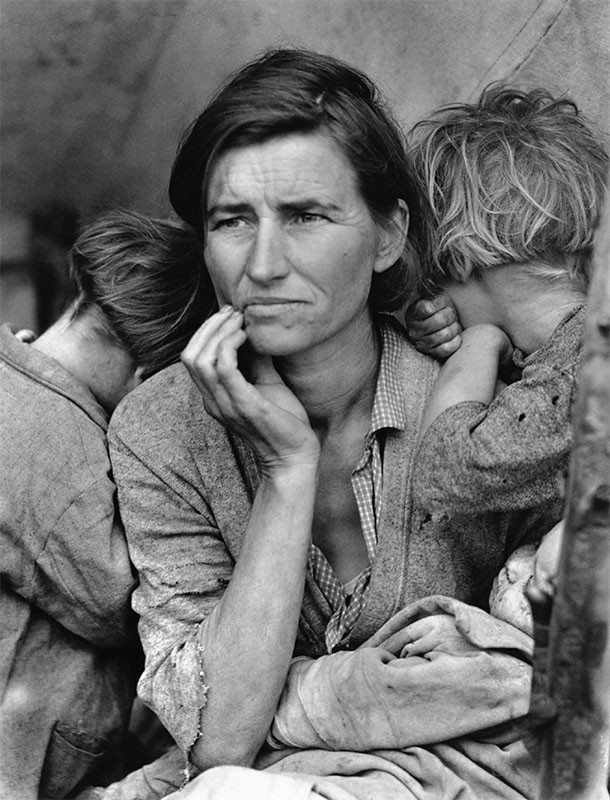 migrant mother-dorothea lange