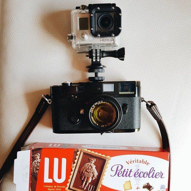 Video: Paris Street Photography GoPro POV with Leica MP