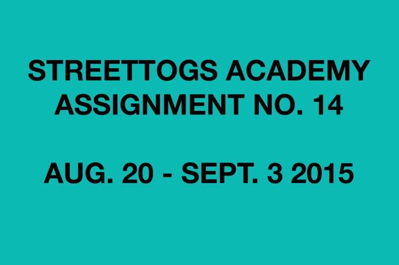 Streettogs Academy Assignment No. 14