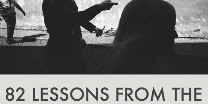 Free ePub E-Book: 82 Lessons From the Masters of Street Photography