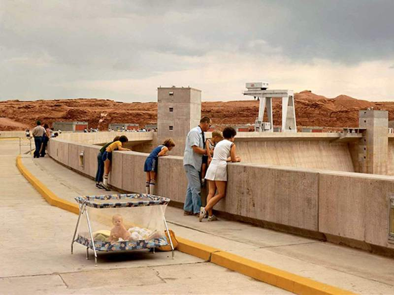 Glen Canyon Dam, Page, Arizona, 1983 (c) Joel Sternfeld