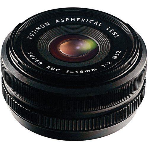 Fujifilm 18mm f/2 lens