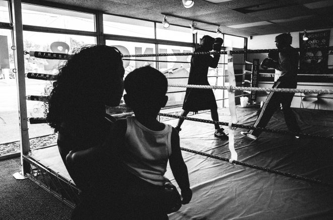 Gallo boxing. Lansing, Michigan 2014