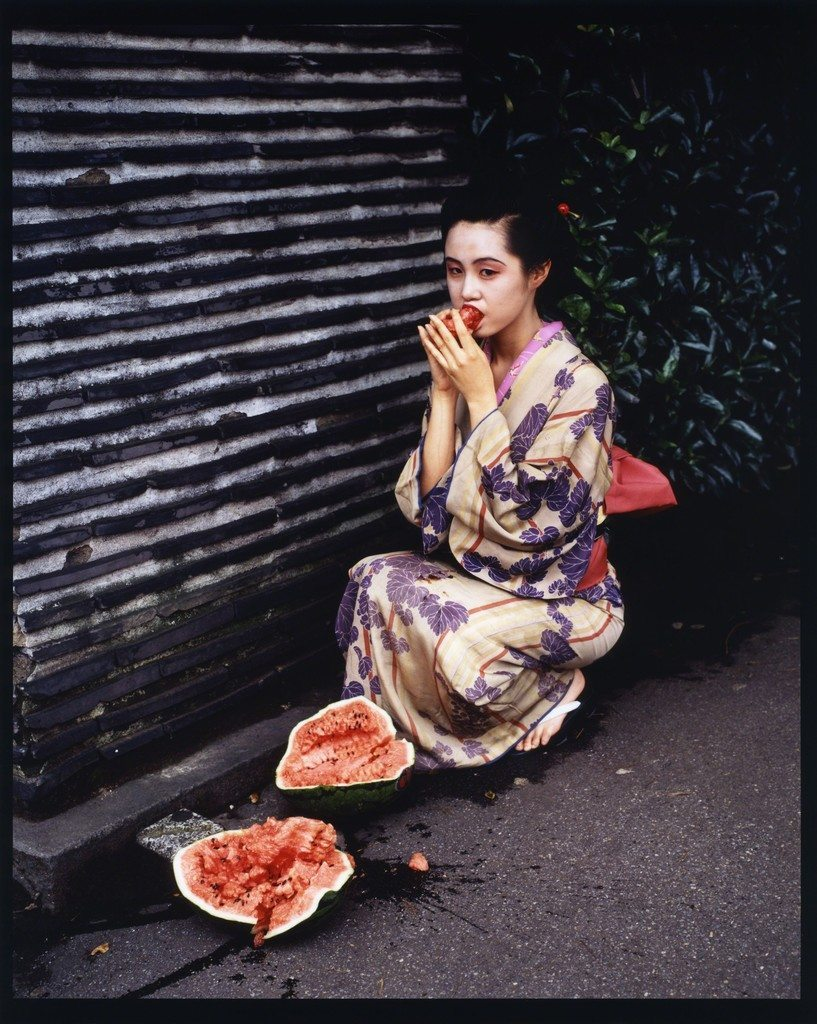 Colourscapes, 1991. Photo by Araki