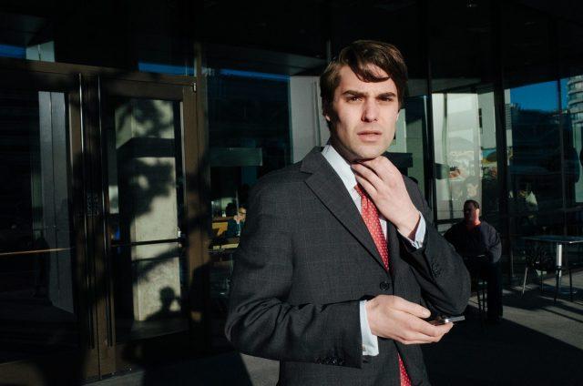 eric kim street photography suits - tie