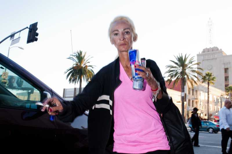 eric-kim-street-photography-only-in-america-hollywood-pink-shirt-red-bull