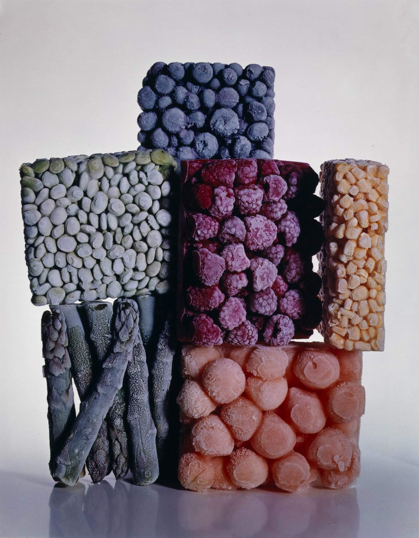 Frozen food © Irving Penn Foundation