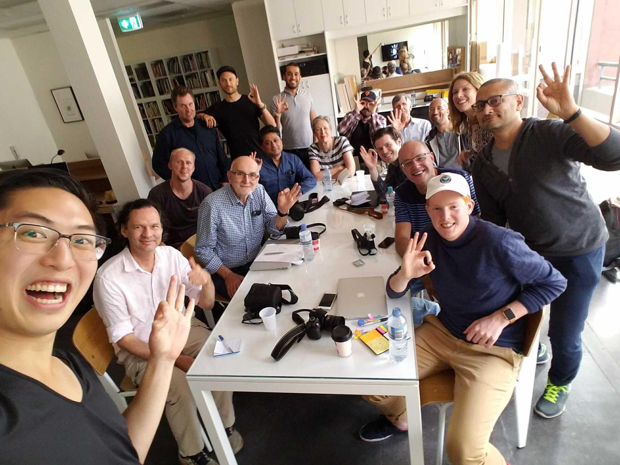 Sydney group selfie!