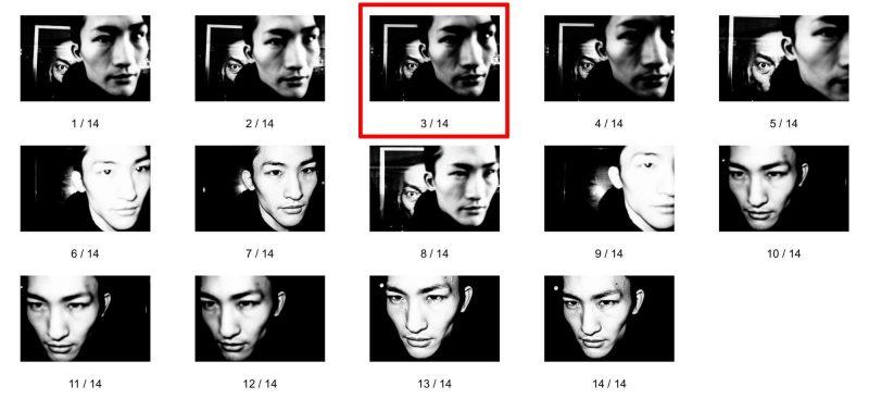 eric kim street photography tokyo eye contact sheet