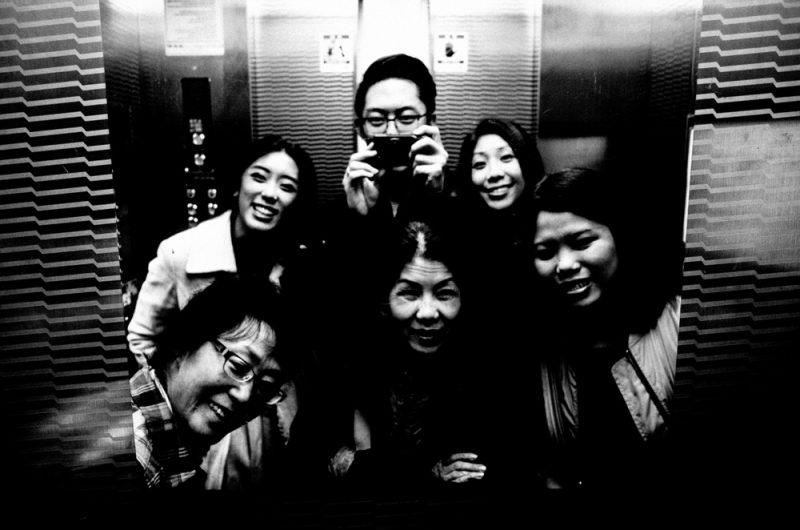 Family selfie / Seoul, 2017
