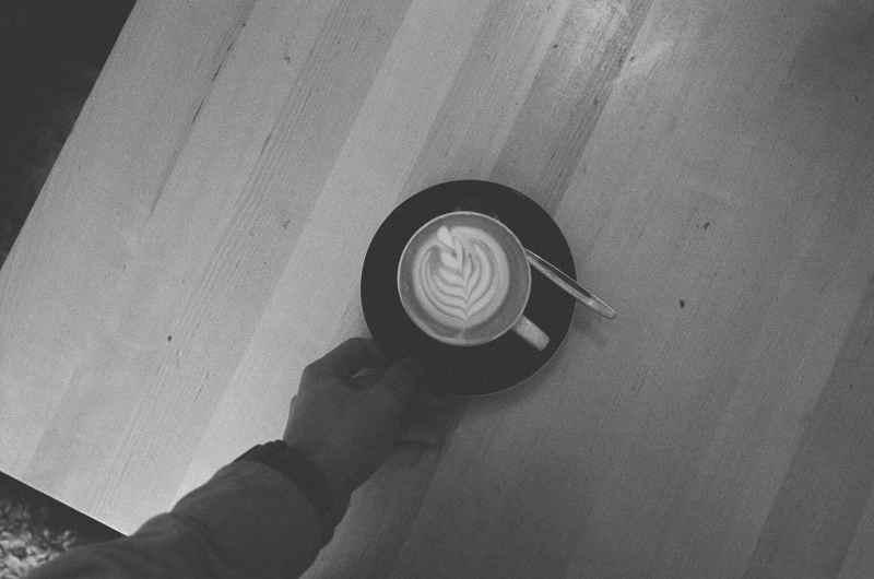 eric kim coffee cappuccino