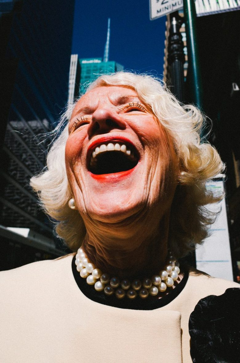 eric kim laughing lady nyc 2015