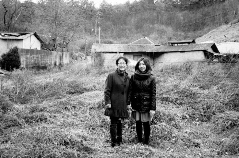 My mom and Cindy / My mom's childhood home / Busan, 2017