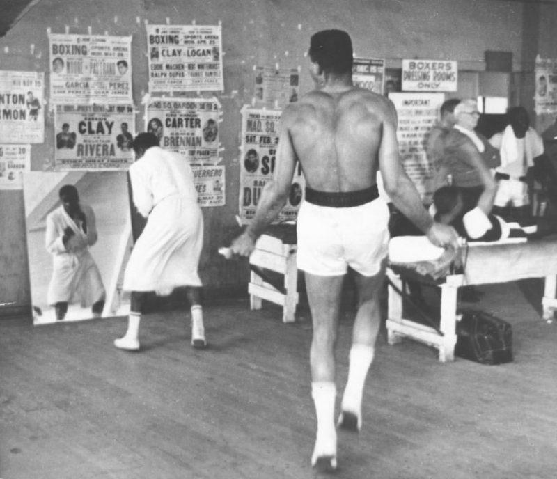 Muhammad Ali Rope Jumping