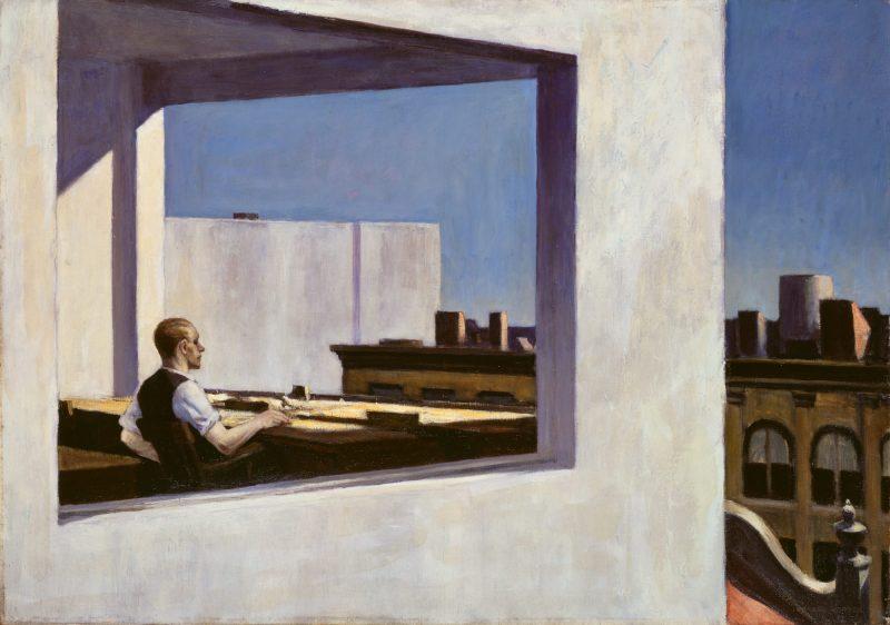 Edward Hopper: Office in a Small City