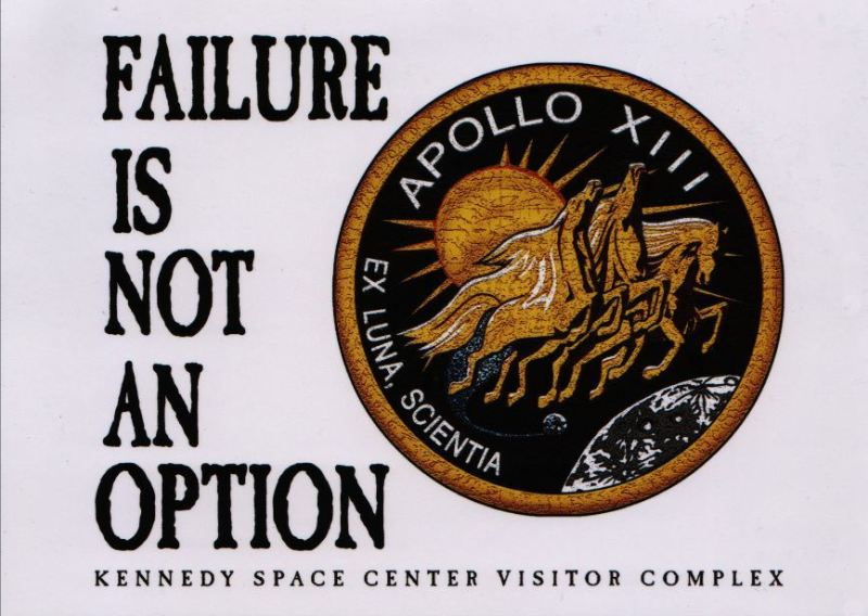 nasa- failure not option
