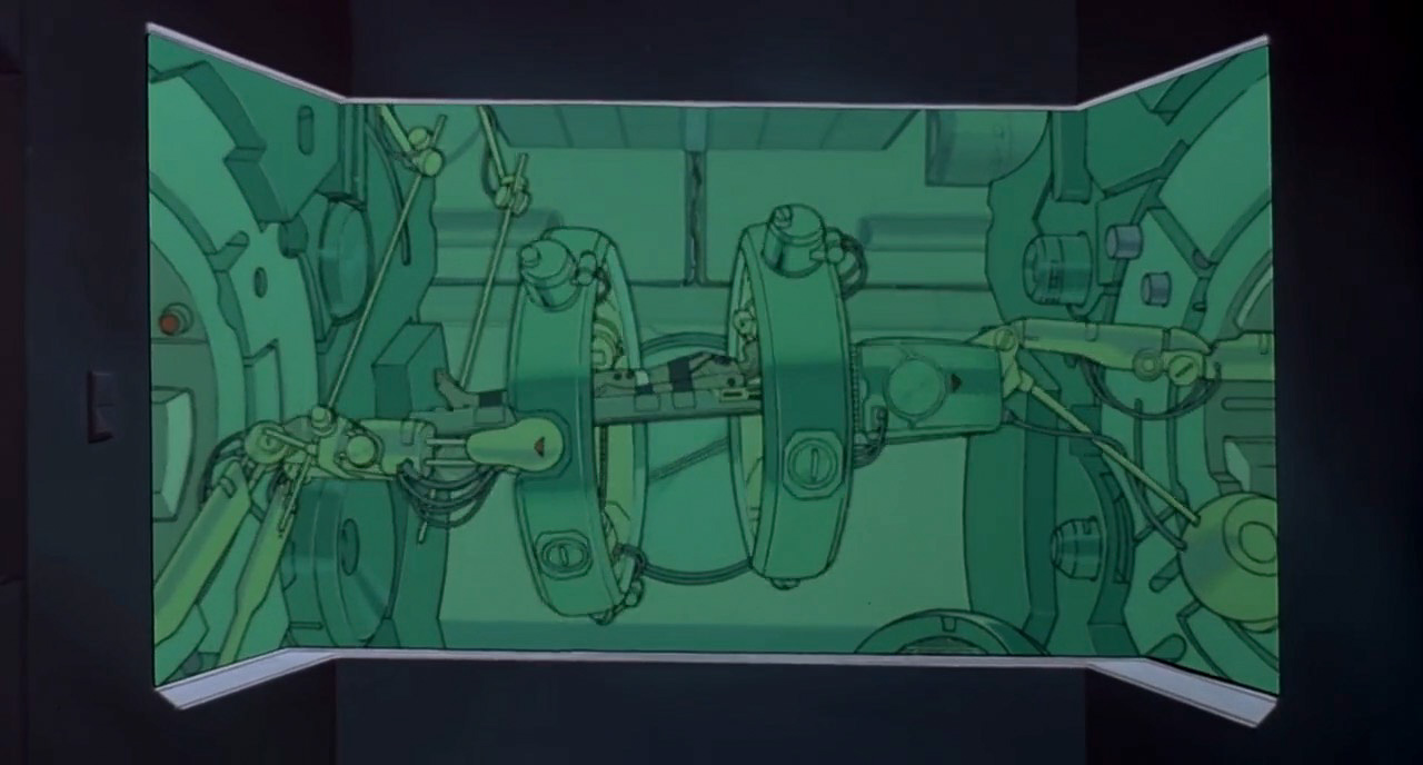 AKIRA Screenshot Movie Composition Cinematography233