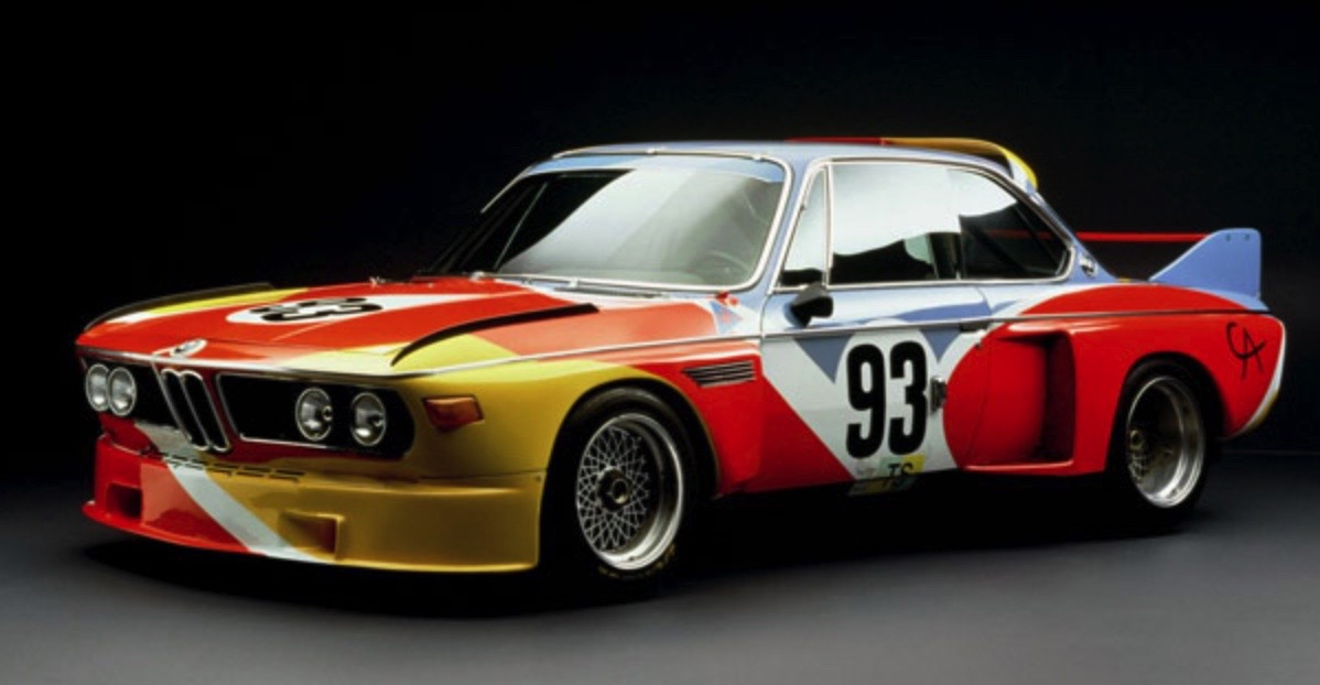 ALEXANDER CALDER BMW ART CAReric kim screenshot_850