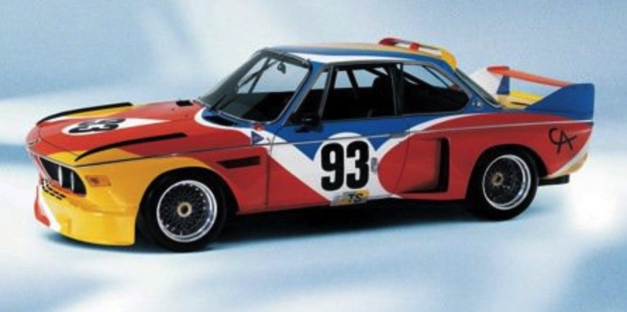 ALEXANDER CALDER BMW ART CAReric kim screenshot_853
