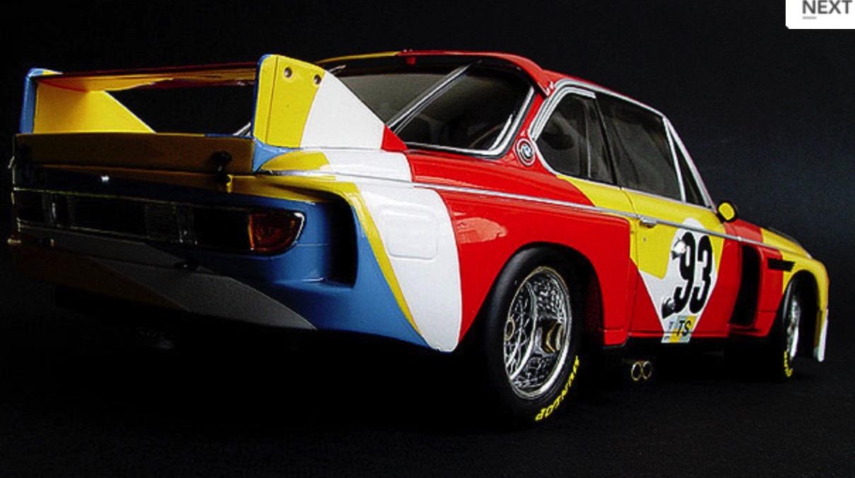 ALEXANDER CALDER BMW ART CAReric kim screenshot_854