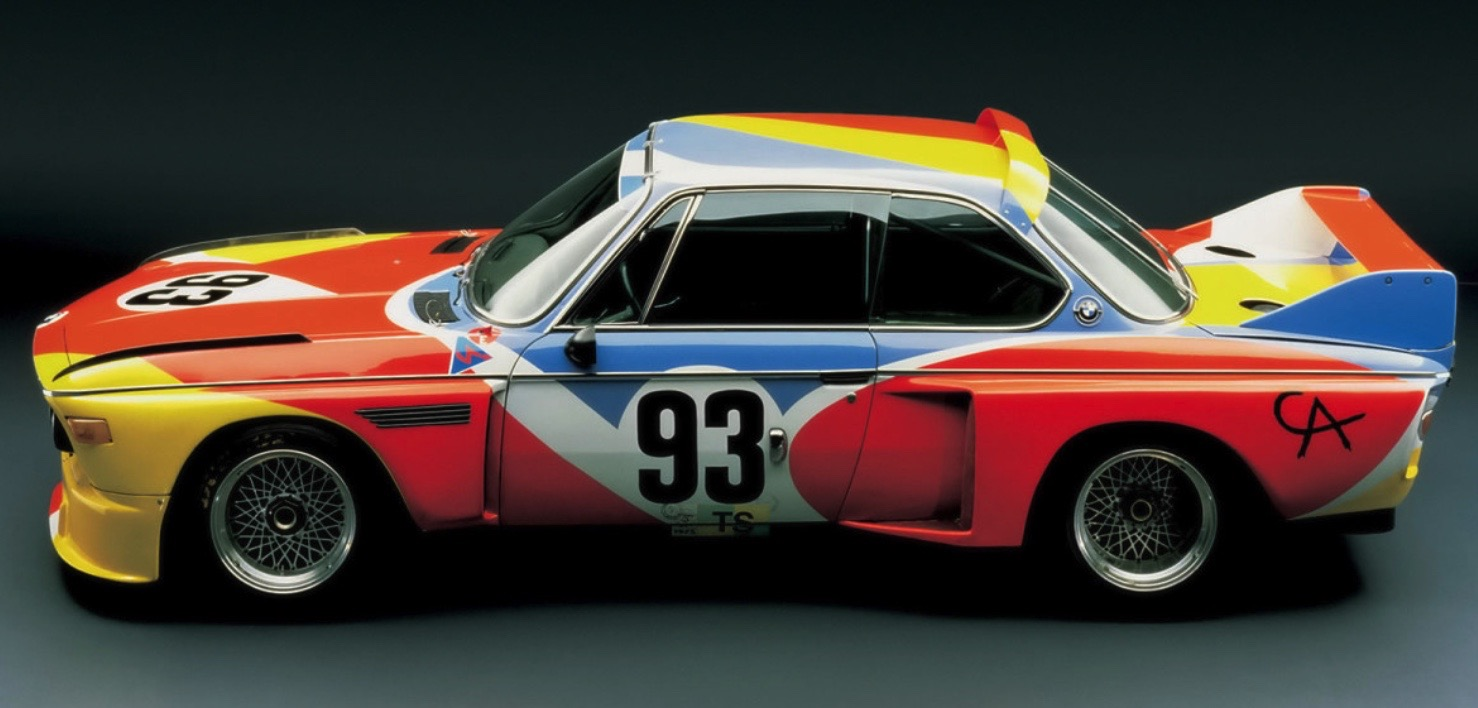 ALEXANDER CALDER BMW ART CAReric kim screenshot_858