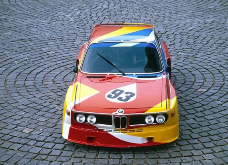 ALEXANDER CALDER BMW ART CAReric kim screenshot_862