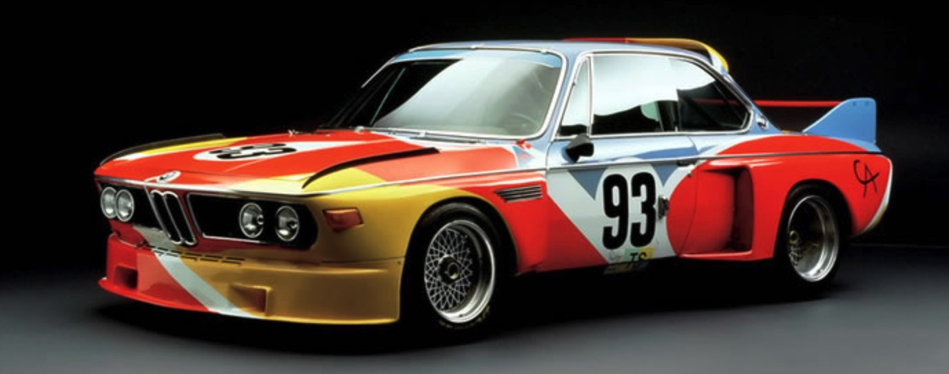 ALEXANDER CALDER BMW ART CAReric kim screenshot_864