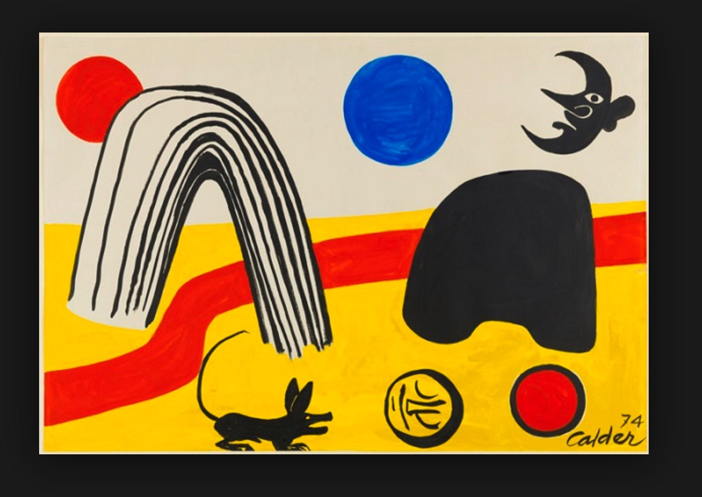 ALEXANDER CALDER BMW ART CAReric kim screenshot_875