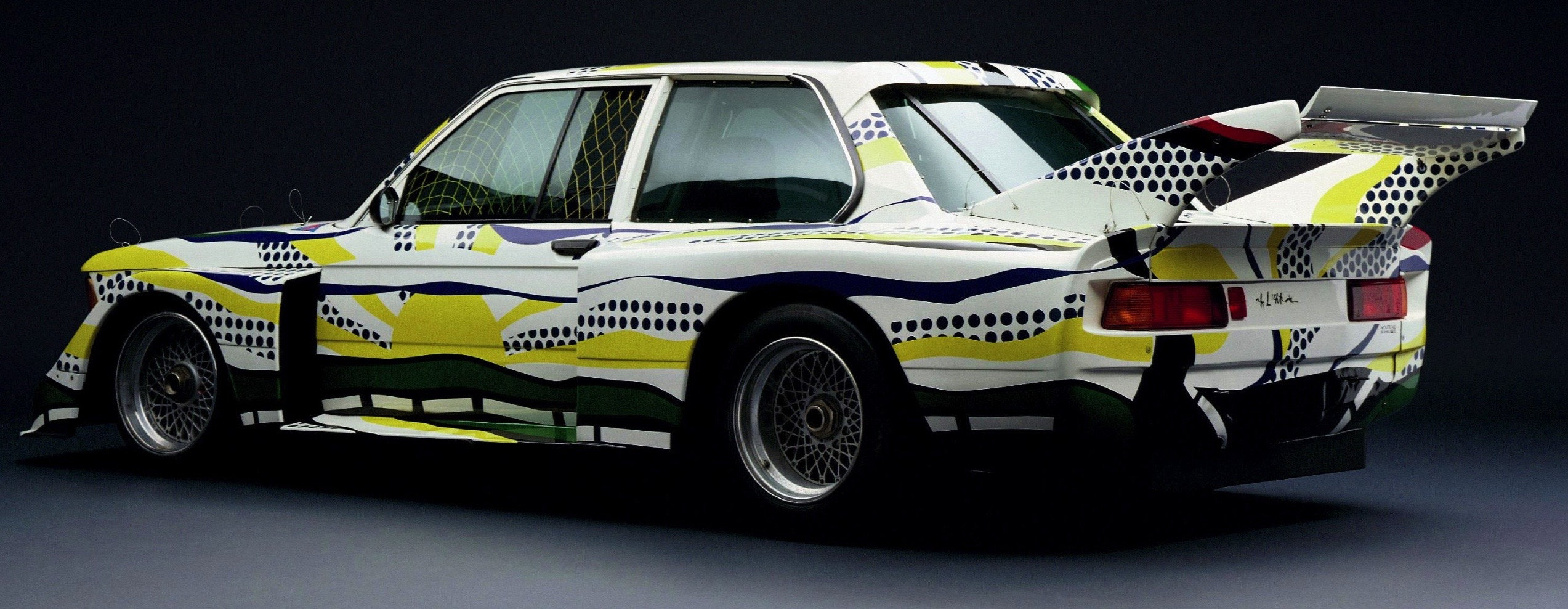 Roy Lichtenstein bmw art car14