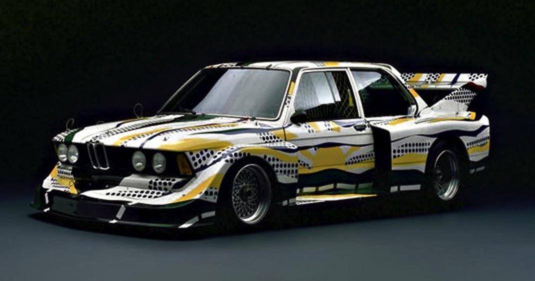 Roy Lichtenstein bmw art car8