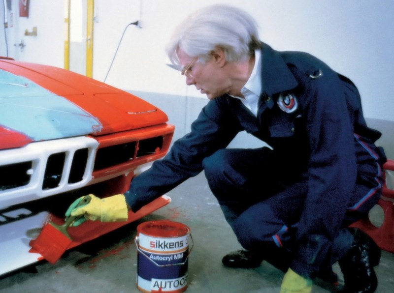 andy warhol bmw art car5