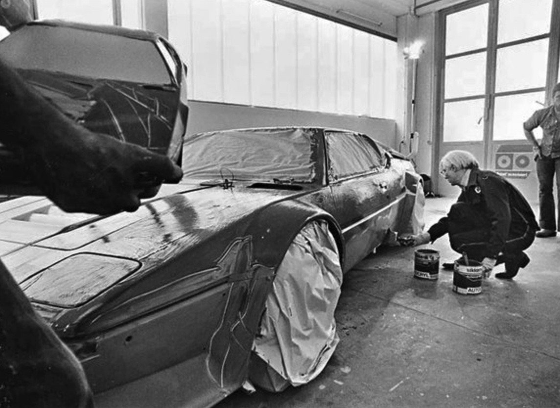 andy warhol bmw art car6