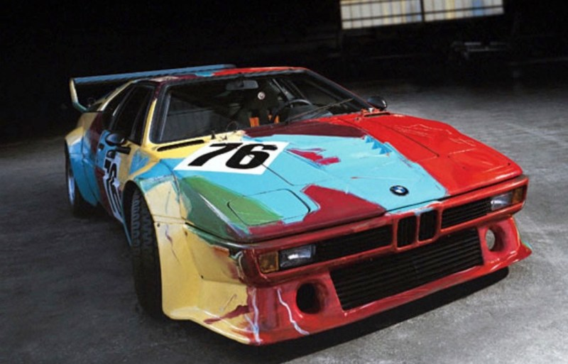 andy warhol bmw art car9