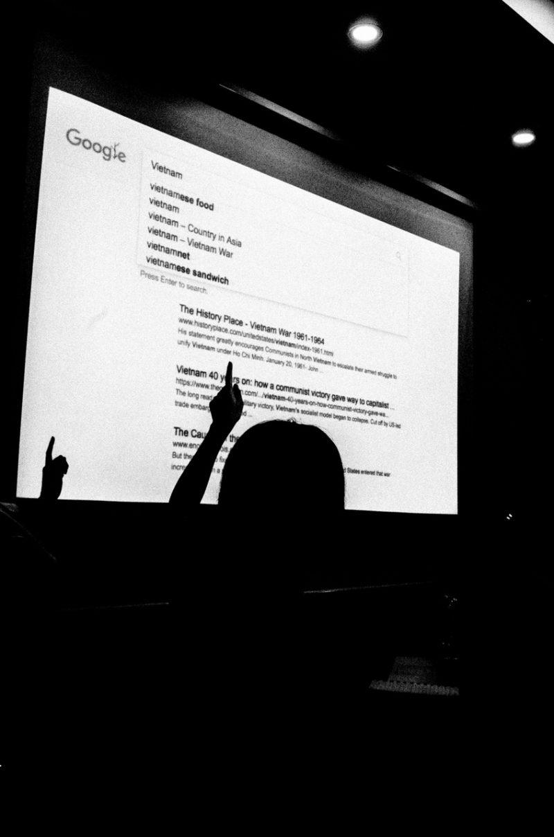 cindy nguyen google presentation silhouette