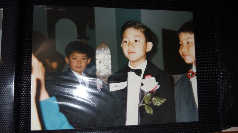 justin inkuk lee eric kim first communion st andrew kim