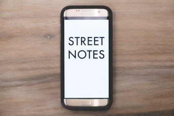 STREET NOTES MOBILE EDITION