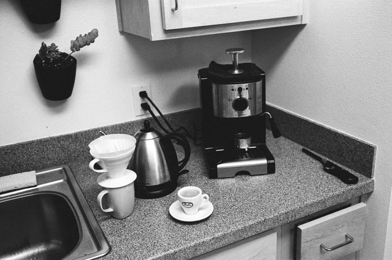 My $2 espresso machine. Berkeley, 2015